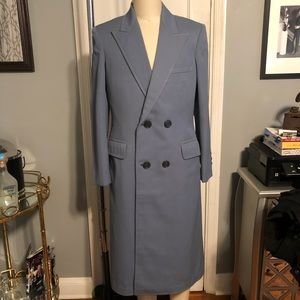 Other - Mens vintage tailored full length overcoat size L